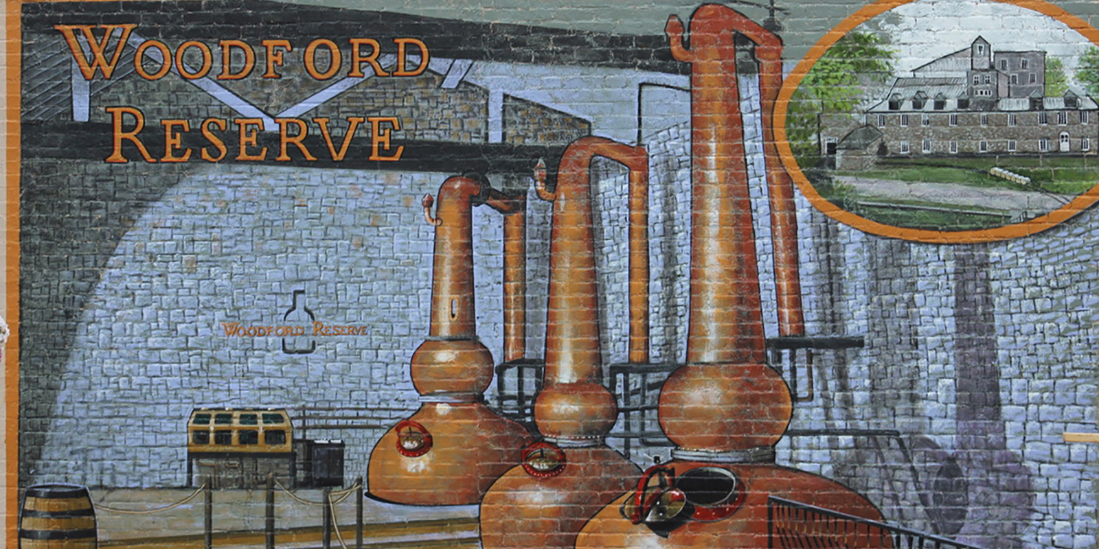 Woodford Reserve Mural